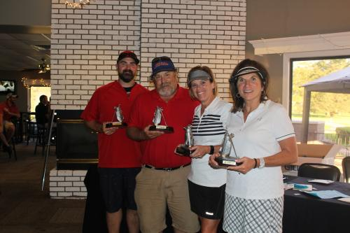Winners of Low Gross Mixed