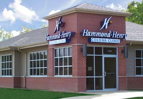 Exterior of Hammond-Henry Hospital Colona Clinic (Urgent Care)